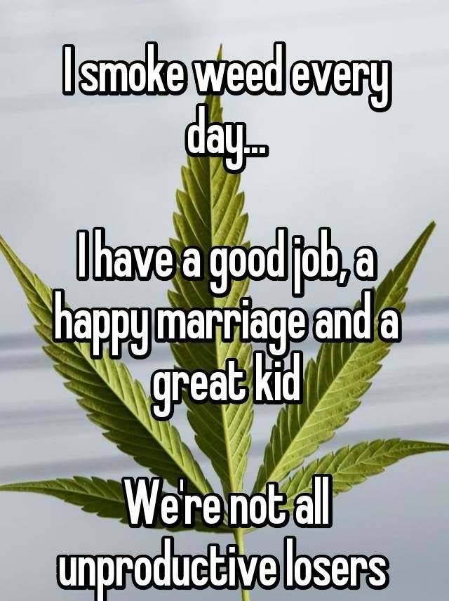 Smoke Weed Every Day Meme