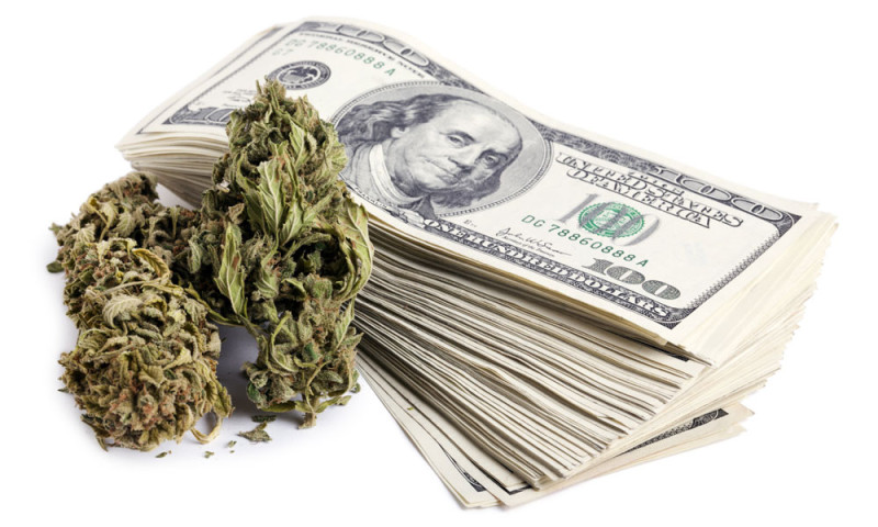 money is being spent to suppress cannabis
