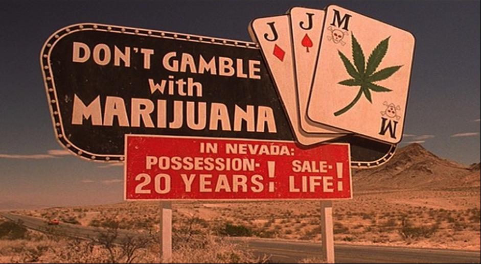Nevada don't gamble with marijuana