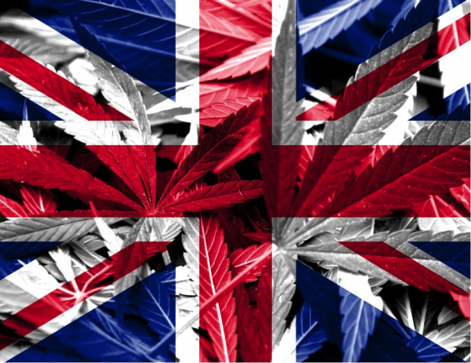 Great British Cannabis Flag