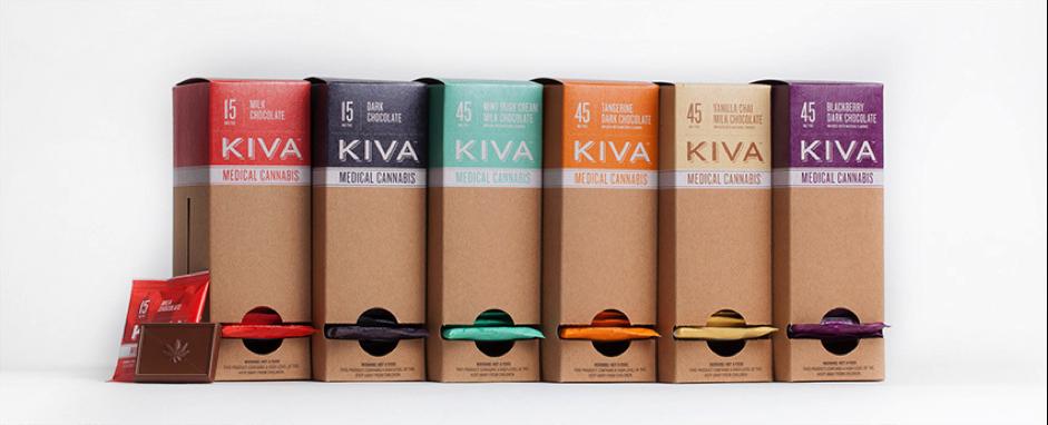 Kiva edibles selection