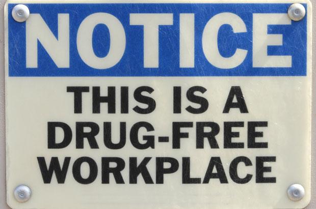 Drug testing at work