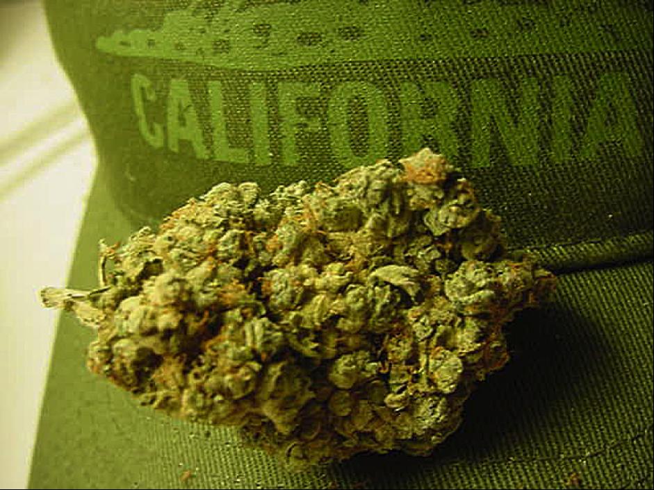 California cannabis trade