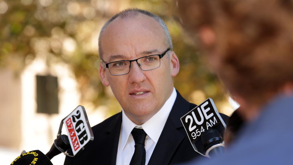 Labor leader Luke Foley