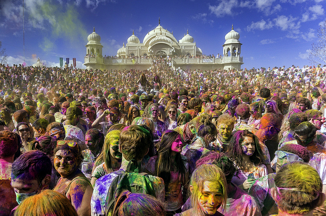 Holi Festival India Photo by Steven Gerner